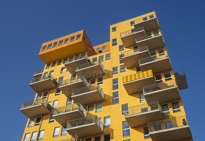 Arquitetura moderna em Munich em Baviera fotografia de stock
