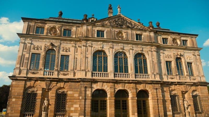 Uma das construções características de Dresden imagem de stock royalty free
