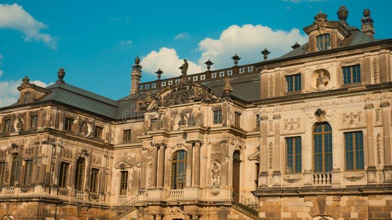Uma das construções características de Dresden imagem de stock