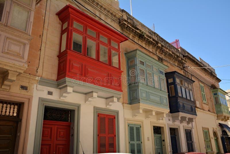 Uma das ruas velhas da cidade em Rabat imagens de stock royalty free