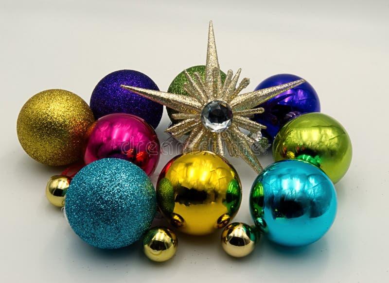 Uma decoração do Natal imagens de stock