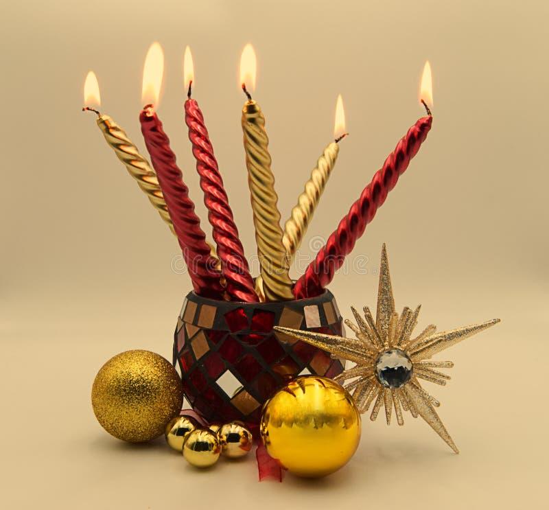 Uma decoração do Natal imagens de stock royalty free