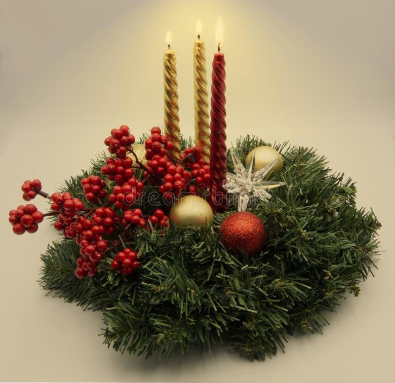Uma decoração do Natal imagem de stock