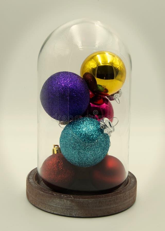 Uma decoração do Natal fotografia de stock