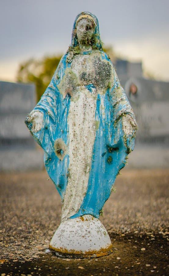 Uma decoração grave ou uma estátua grave fotografia de stock