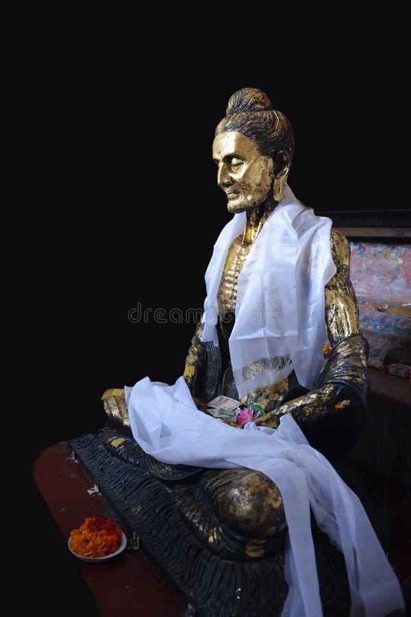 Uma estátua da Buda de jejum fotos de stock royalty free