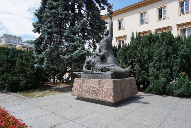 Uma estátua do sofrimento fotografia de stock royalty free