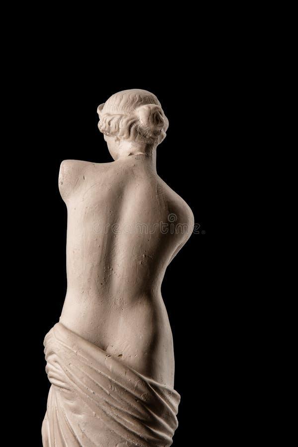 Uma estátua do Vênus, emplastro imagens de stock