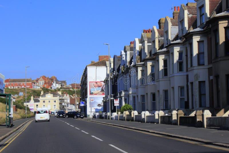 259 uma estrada Hastings Reino Unido fotografia de stock