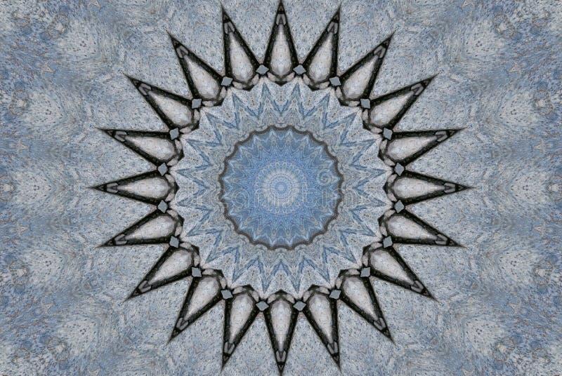 Uma estrela aguçado múltipla ilustração do vetor