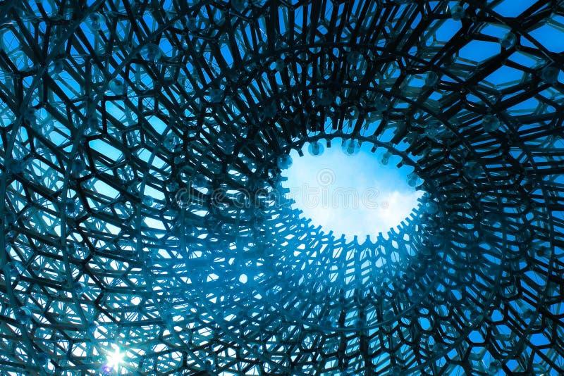 Uma estrutura bonita que pareça olho do ` s do deus foto de stock royalty free