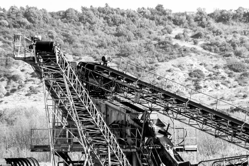 Uma fábrica do cimento imagem de stock