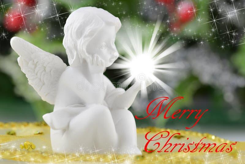 Uma figura pequena do anjo imagem de stock royalty free