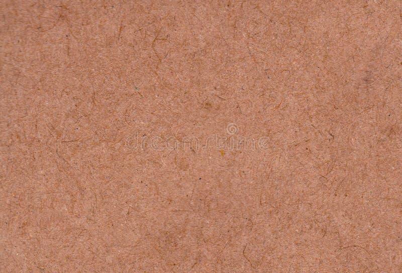Uma folha vazia da textura de papel amarela de gerencio velha Fundo imagem de stock