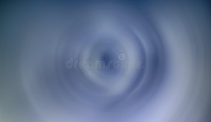Uma foto abstrata de nuvens com um efeito do borrão de movimento que mostra o redemoinho ilustração do vetor