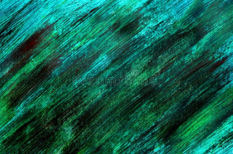 Uma foto de uma pintura abstrata do guache fotografia de stock
