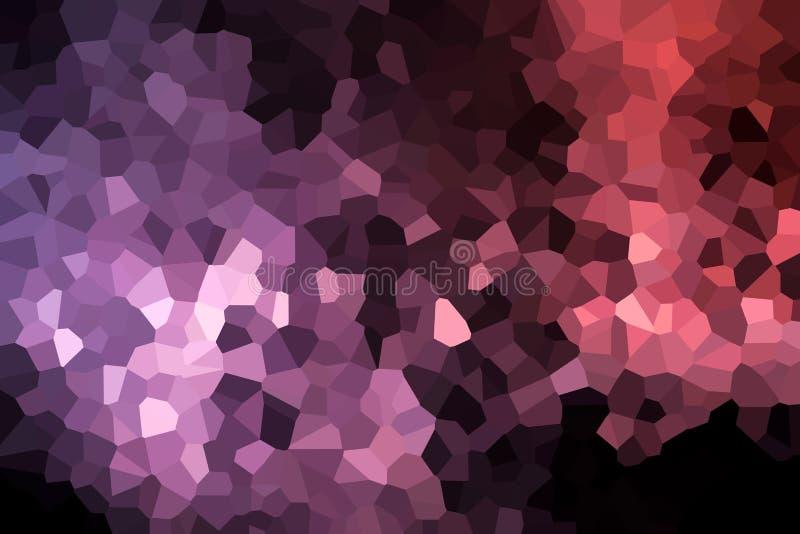 Uma fotografia de um teste padrão geométrico abstrato ilustração stock