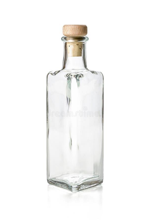 Download Garrafa Vazia Do Licor Em Um Fundo Branco Imagem de Stock - Imagem de fundo, blank: 29831343