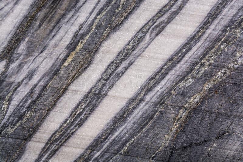 Uma grande variedade dos testes padrões de mármore na natureza foto de stock