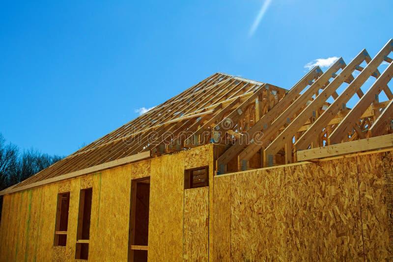 Uma HOME nova sob a construção imagem de stock