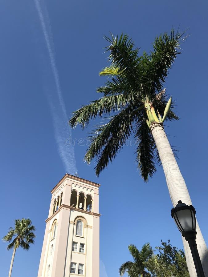 Uma igreja Católica em Miami Beach - Florida - EUA imagens de stock
