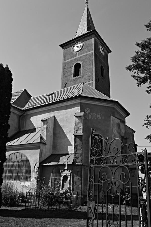Uma igreja esquecida fotos de stock