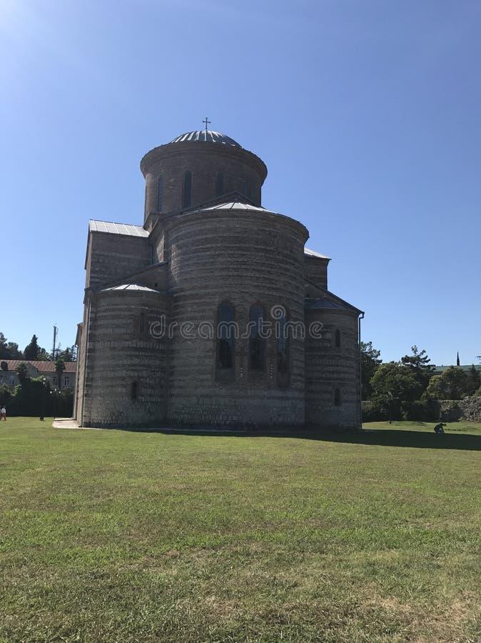 Uma igreja velha imagens de stock