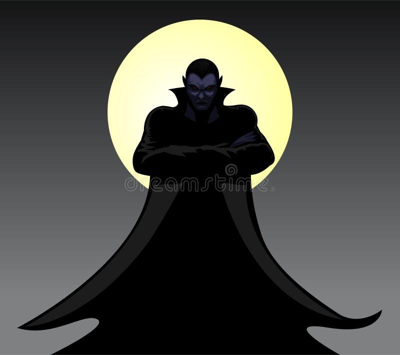 Dracula ilustração royalty free