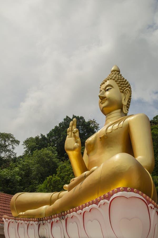 Uma imagem de Buddha imagens de stock