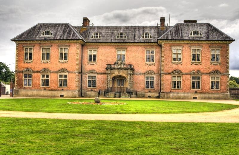Uma imagem de HDR da décima sétima casa de Tredegar do século foto de stock