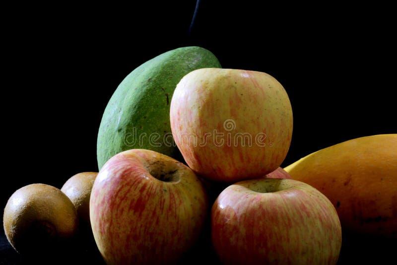 Uma imagem imóvel de frutos deliciosos imagens de stock royalty free