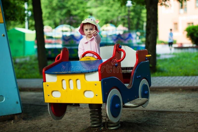 Uma infância do divertimento. fotografia de stock royalty free