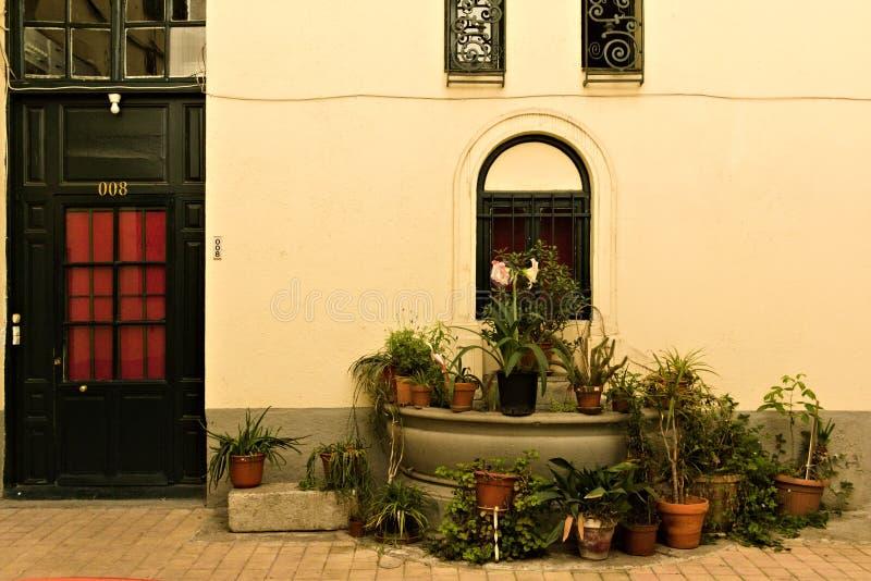 Uma jarda do Madri completamente das hortaliças imagem de stock royalty free
