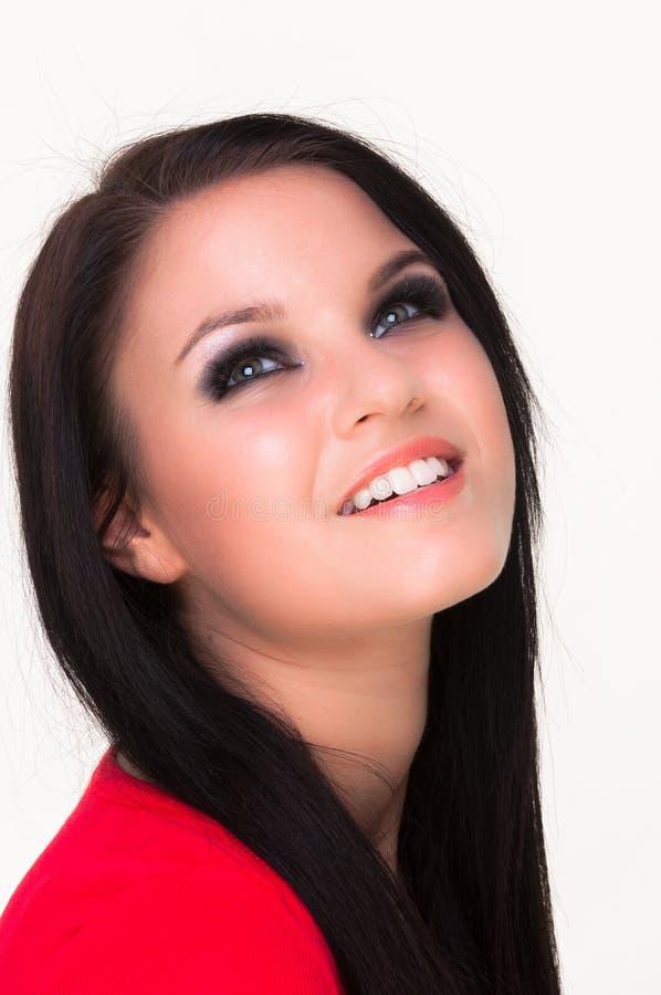 Uma jovem mulher bonita fotos de stock royalty free