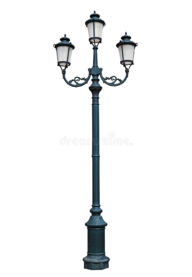 Uma lâmpada de rua catita fotografia de stock