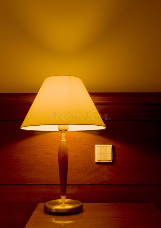 Uma lâmpada do quarto foto de stock royalty free