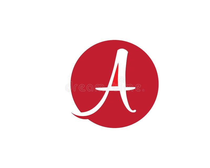 Uma letra Logo Business ilustração do vetor