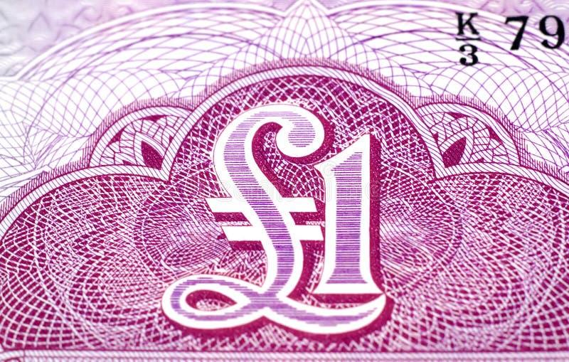 Download Uma libra imagem de stock. Imagem de currency, macro, finanças - 62875