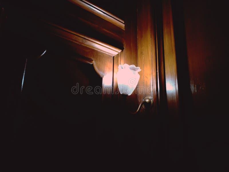 Uma luz no restaurante fotos de stock