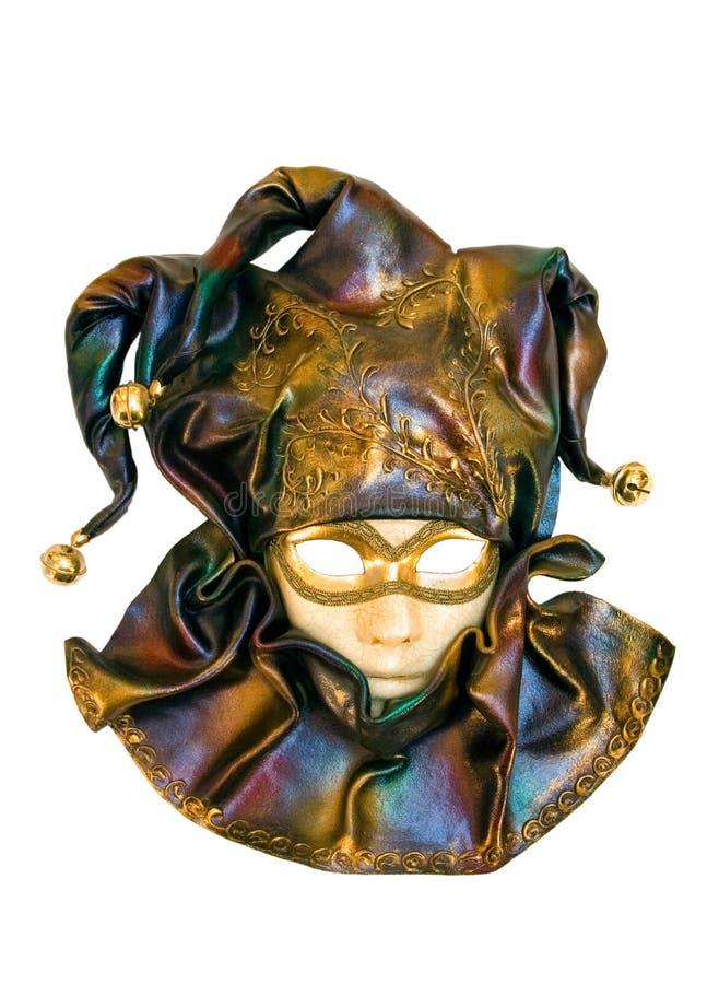 Download Uma Máscara Venetian Isolada No Branco Imagem de Stock - Imagem de fundo, conceito: 10052843
