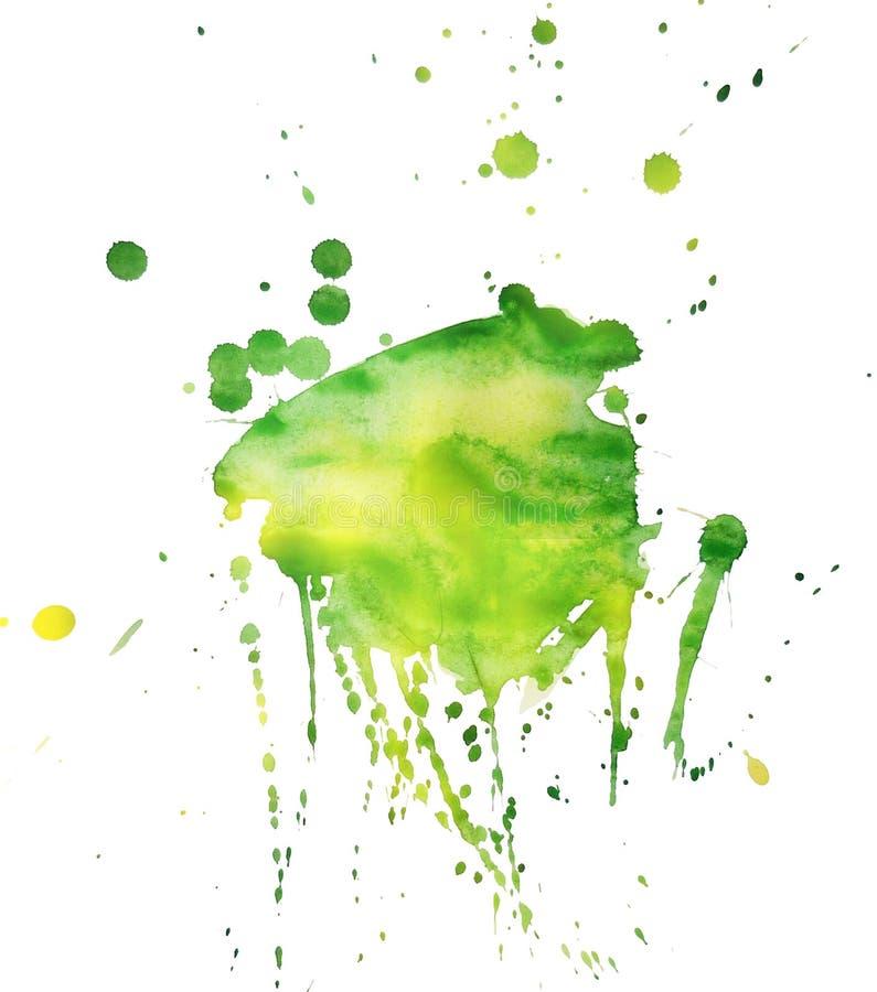 Download Mancha 7 da mola ilustração stock. Ilustração de pintura - 29828933