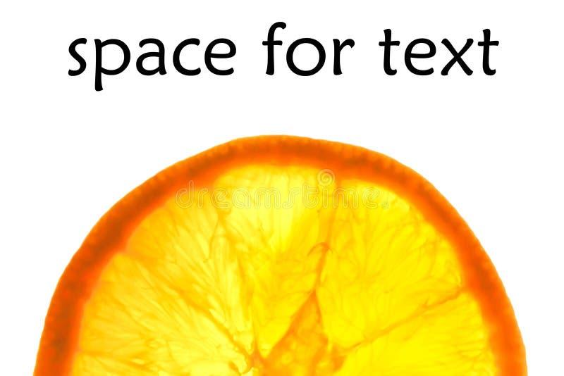 Download Uma Meia Laranja Gosta Do Sol Com Espaço Para O Texto Foto de Stock - Imagem de médico, frouxo: 29848108