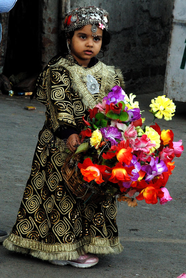 Uma menina bonita fotografia de stock royalty free