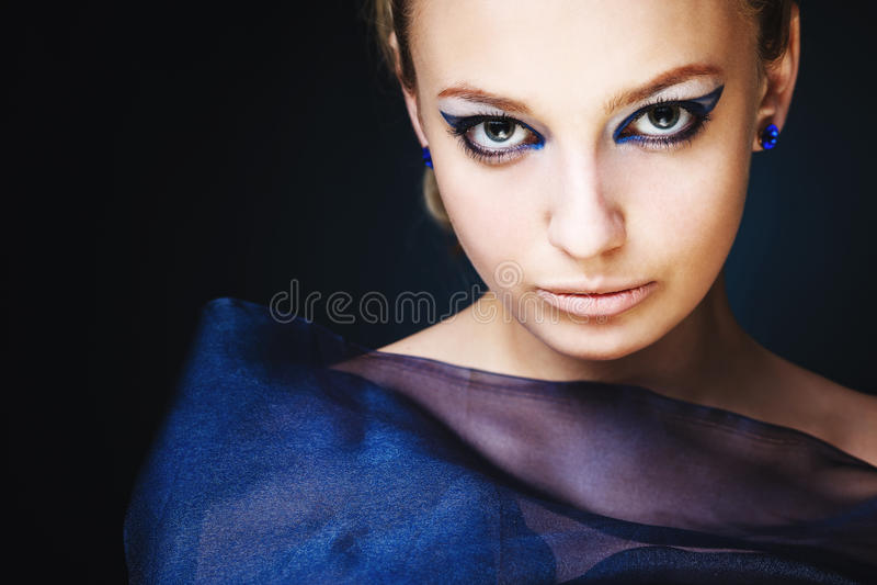 Uma menina da beleza foto de stock royalty free