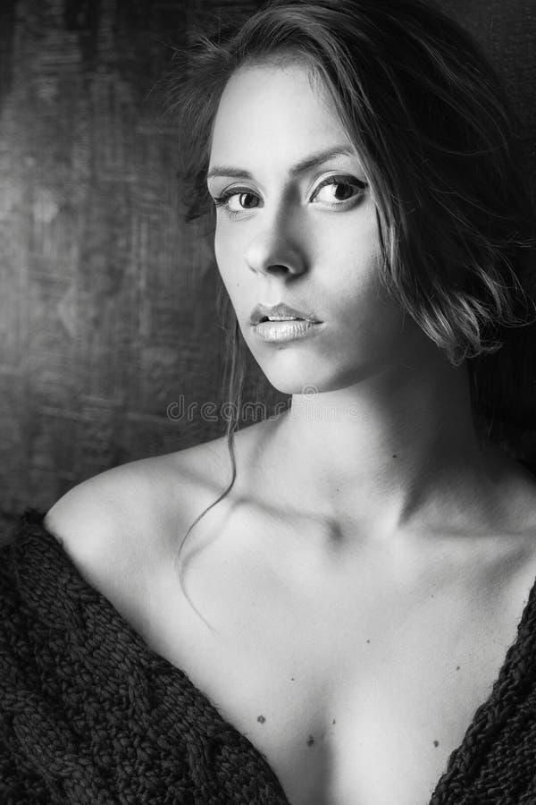 Uma menina da beleza fotos de stock royalty free