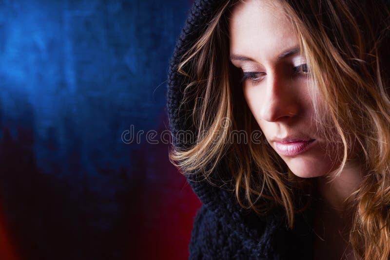 Uma menina da beleza fotos de stock