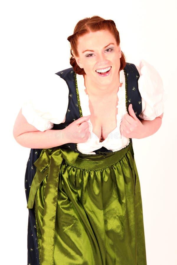 Uma menina de Baviera imagens de stock royalty free