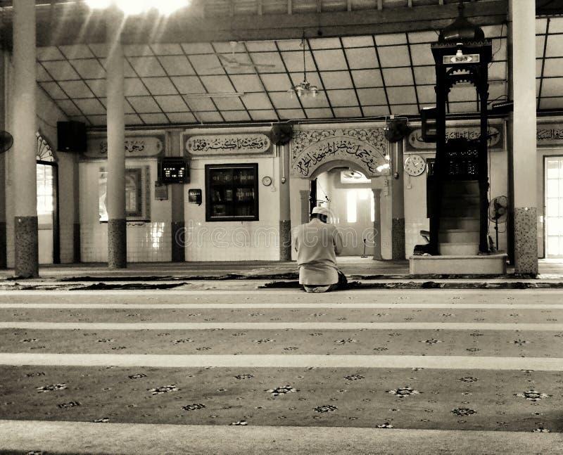 Uma mesquita só imagens de stock