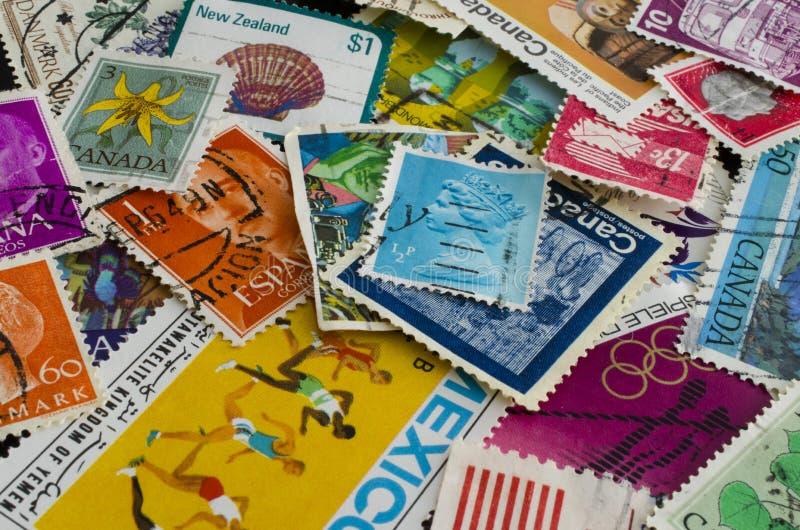 Uma montagem do selo fotografia de stock royalty free