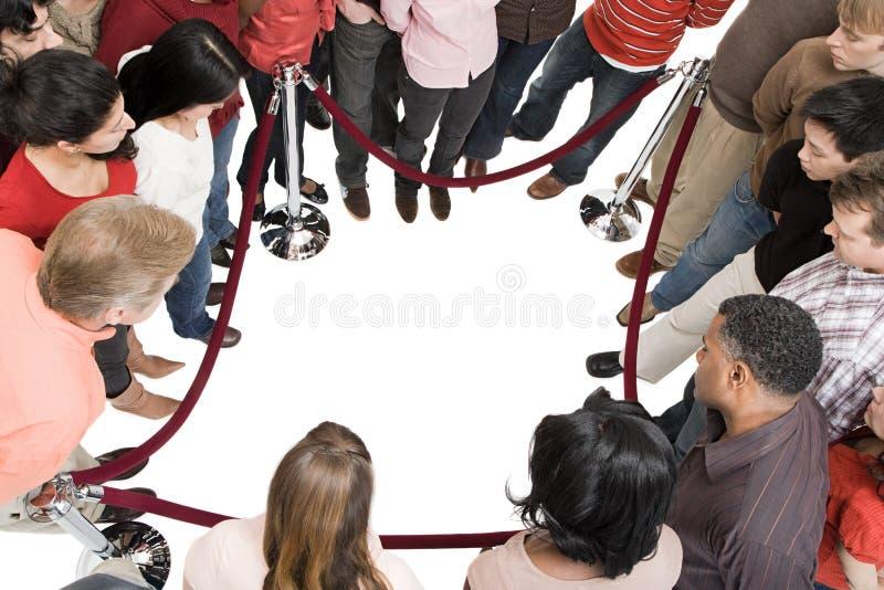 Uma multidão foto de stock royalty free